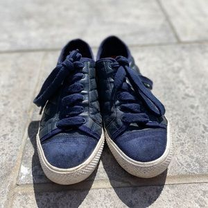 Tory Burch - Navy Blue Sneakers - 7.5